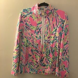 Lilly Pulitzer Pink Palm Reader Popover